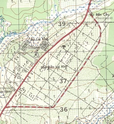 Lai Khe Vietnam Map.Fred S Viet Nam Days